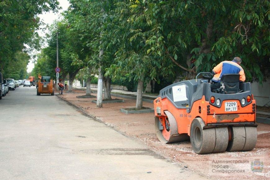В Симферополе строят еще одну парковку — возле 6-й горбольницы (ФОТО) (фото) - фото 1