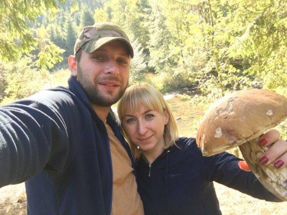 Як Володимир Парасюк гриби збирав на Прикарпатті, фото-2