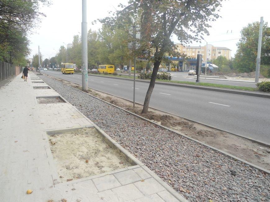 Як триває реконструкція на проспекті Чорновола (ФОТО) (фото) - фото 1