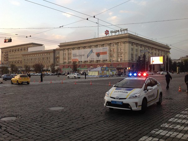 В здании Харьковской ОГА ищут взрывчатку (ФОТО) (фото) - фото 1