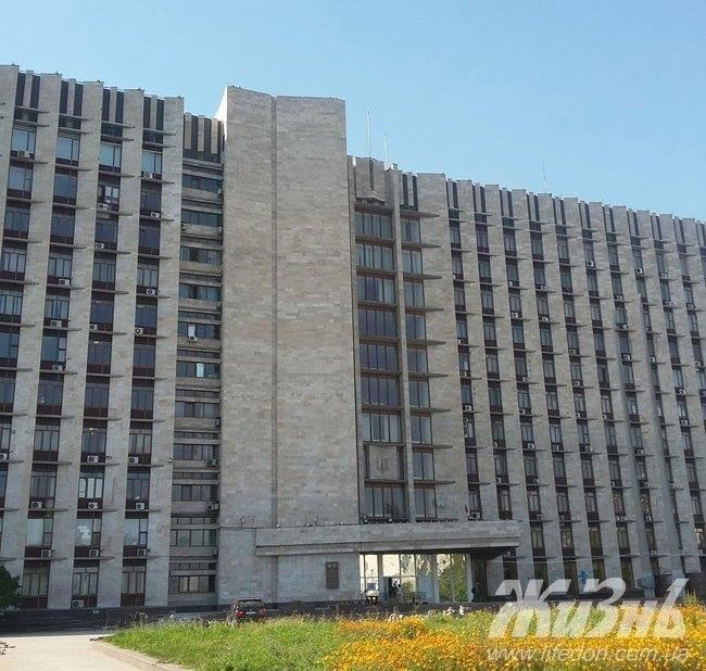 Со здания Донецкой ОГА сняли флаги «ДНР» (ФОТО) (фото) - фото 1