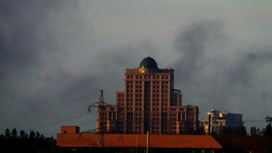 В Донецке горел военный склад? (ФОТОФАКТ) (фото) - фото 1