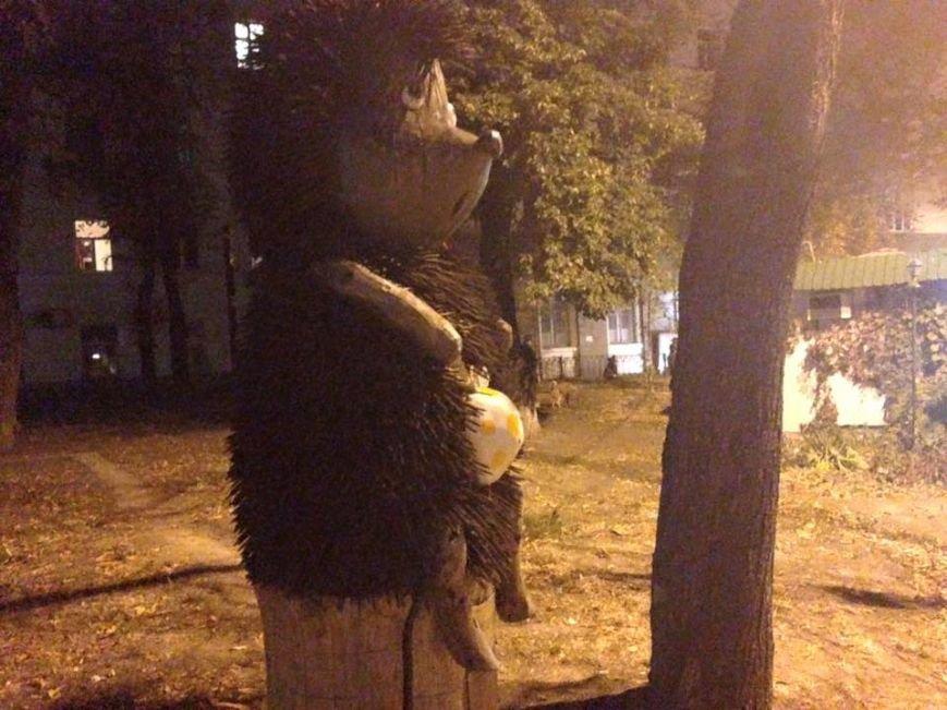 """Киевскому """"Ежику в тумане"""" вернули узелок (ФОТОФАКТ), фото-1"""