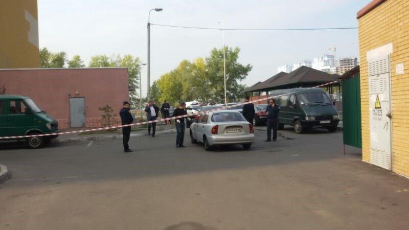 В Дарницком районе со стрельбой похитили человека (ФОТО) (фото) - фото 1