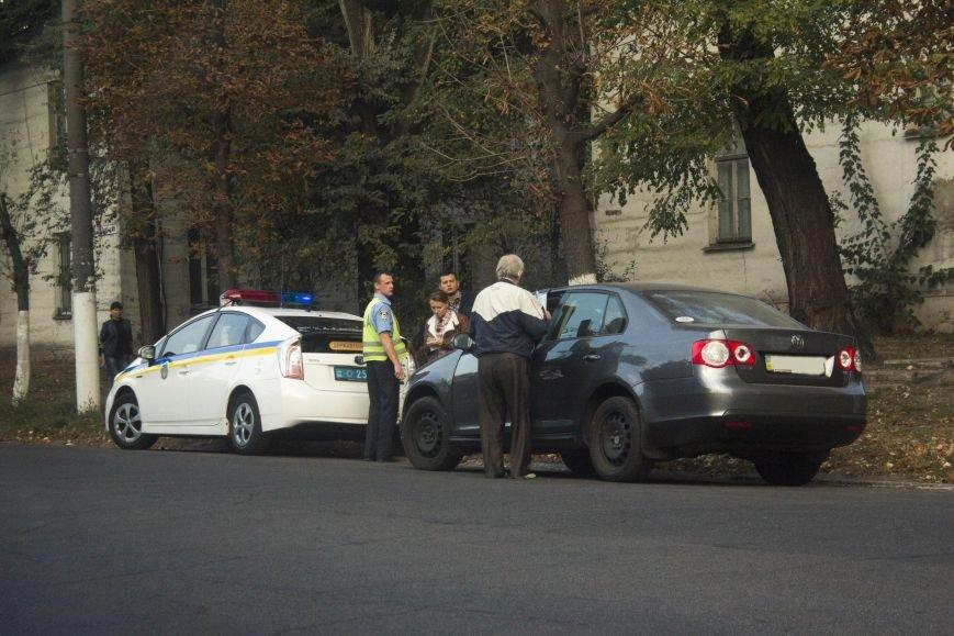 В Днепродзержинске в ДТП на проспекте Пелина пострадал пешеход (фото) - фото 1
