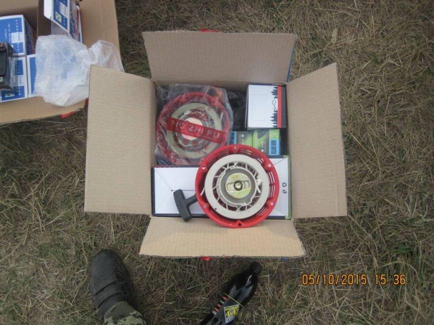 Харьковские пограничники не дали вывезти  в Россию контрабандные автозапчасти, фото-2