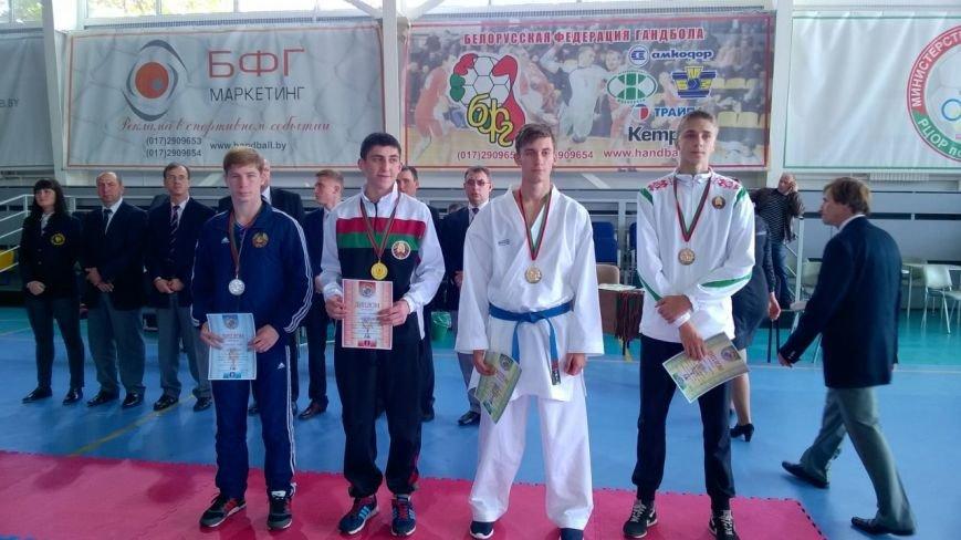 Спортсмены новополоцкого каратэ-клуба «Будокай» привезли домой 10 медалей (фото) - фото 1