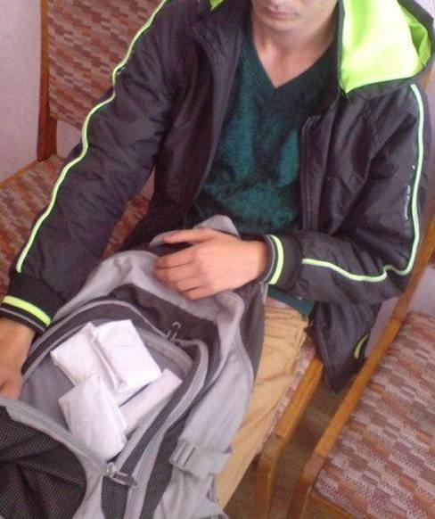 Правоохоронці Конотопа затримали студента із маріхуаною (фото) - фото 1
