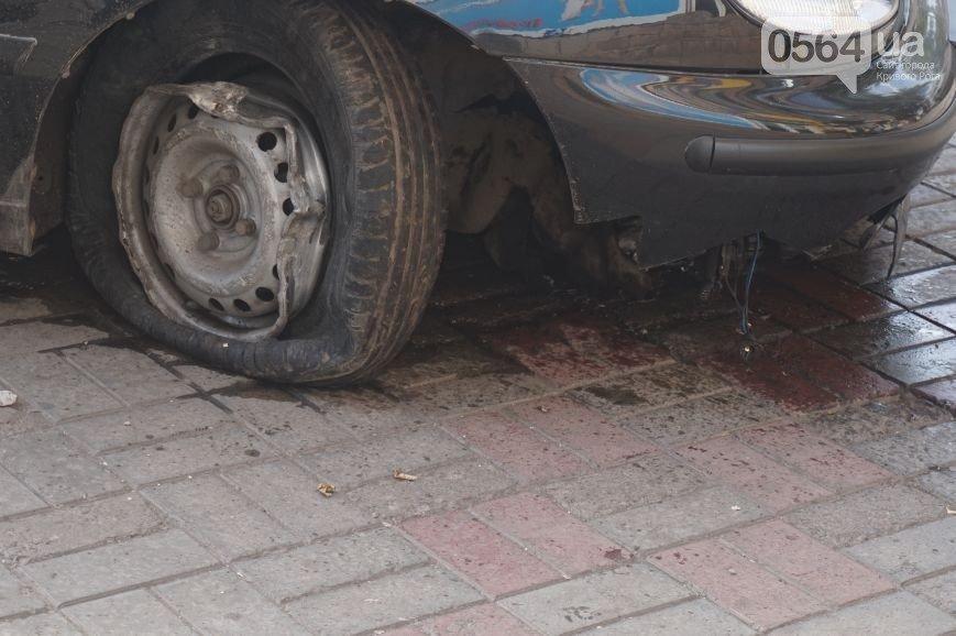 В Кривом Роге: «Daewoo Lanos» перелетел через трамвайные пути, задержана криворожанка, призывавшая к созданию «республик» (фото) - фото 1