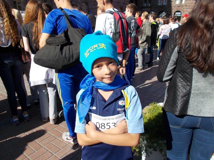 Кіровоградська область прийняла участь у святкуванні Всесвітнього дня ходьби в місті Києві (фото) - фото 1