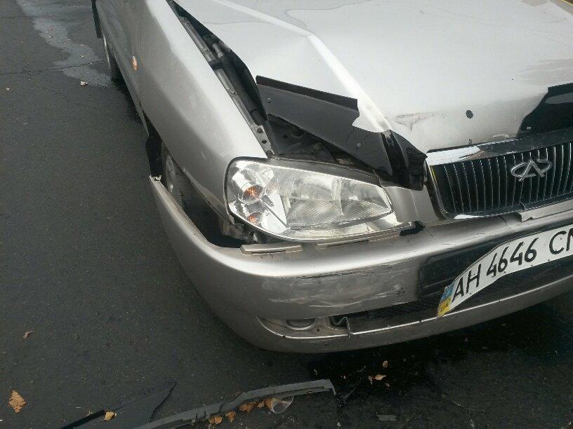 Роковой перекресток: в центре Мариуполя столкнулось 5 автомобилей (ФОТО), фото-4
