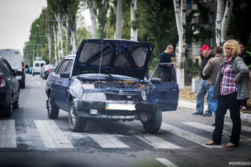 ДТП в Кременчуге: никто не пострадал, никто в ГАИ не обращался (ФОТО) (фото) - фото 1