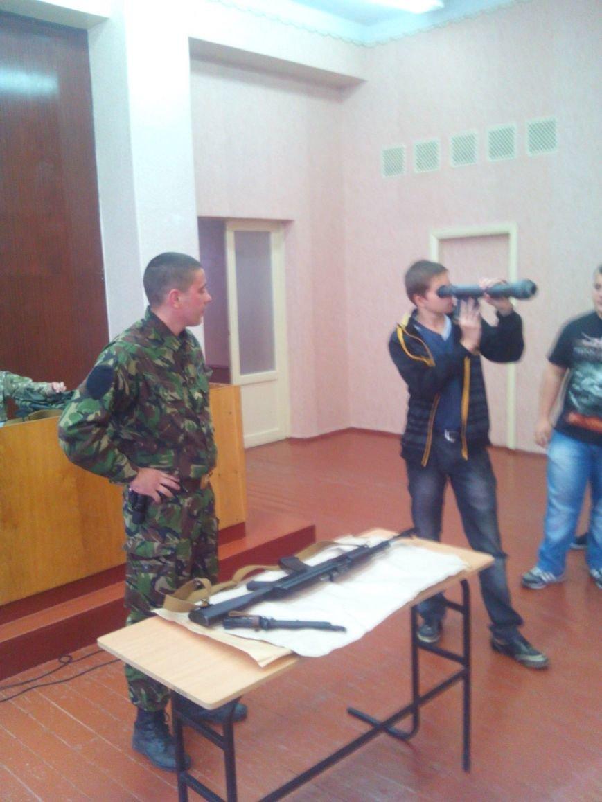 «Уроки мужества» для молодежи Артемовска-Бахмута, фото-3