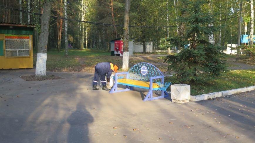 В Новополоцке  облагораживают парк культуры и отдыха, фото-11