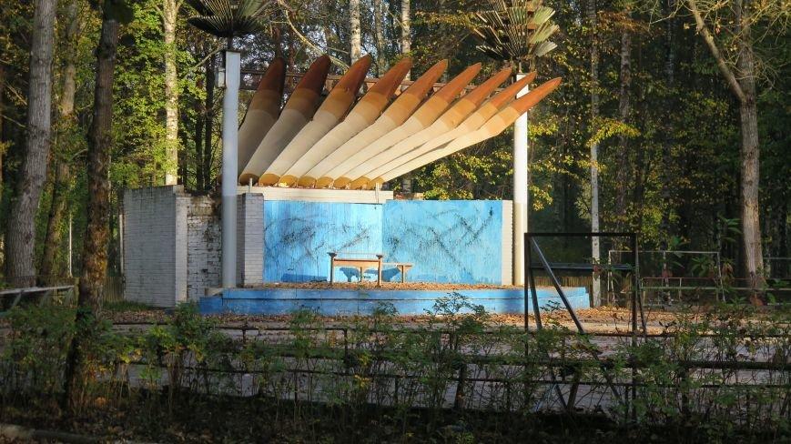 В Новополоцке  облагораживают парк культуры и отдыха, фото-5