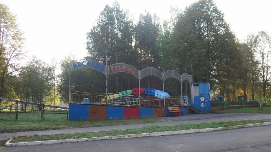 В Новополоцке  облагораживают парк культуры и отдыха, фото-9