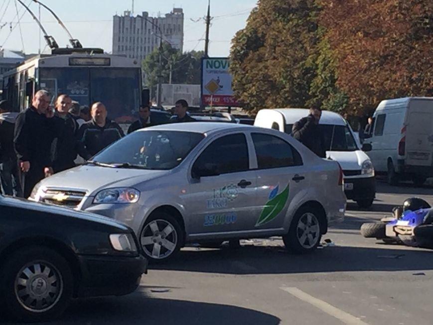 У Тернополі збили мотоцикліста (ФОТО) (фото) - фото 1