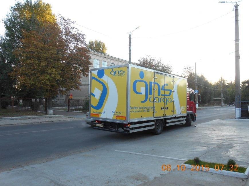 В Кировограде грузовик оборвал троллейбусные провода (ФОТО) (фото) - фото 1