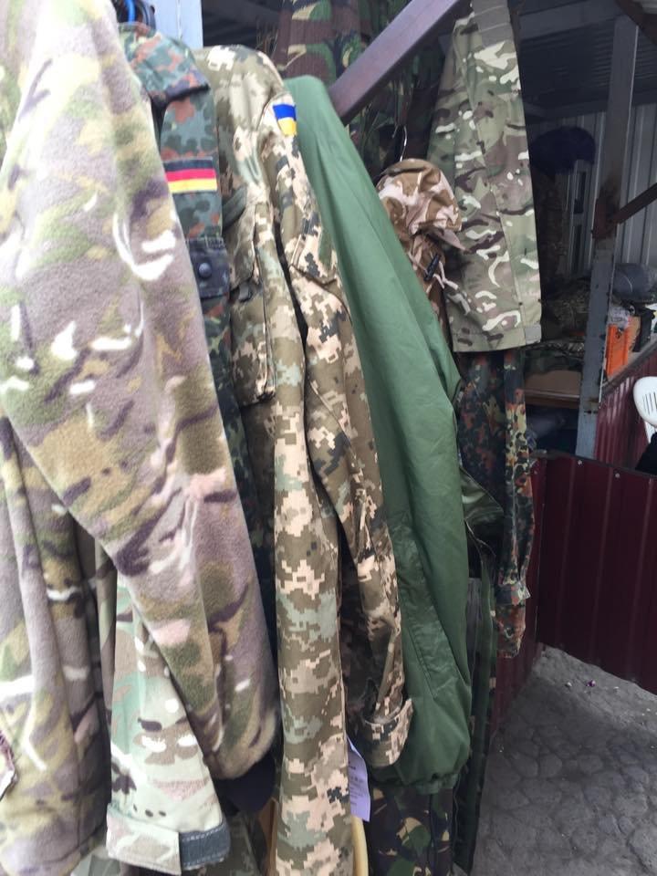 В секторе «М» военные сдают форму на рынок? (ФОТО), фото-1