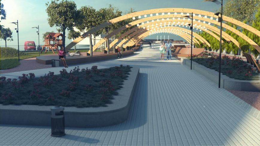 В Твери появится сквер в современном стиле (фото) - фото 4