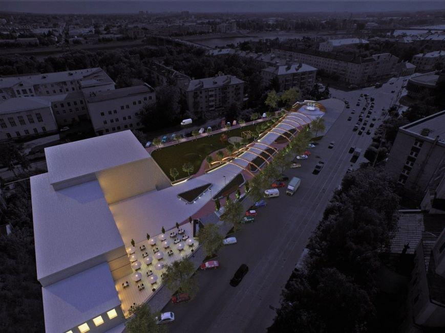 В Твери появится сквер в современном стиле (фото) - фото 5