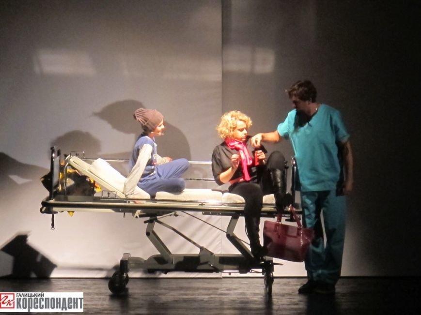 В Івано-Франківську відбулася прем'єра театрального арт-проекту «Оскар і Рожева пані», фото-2