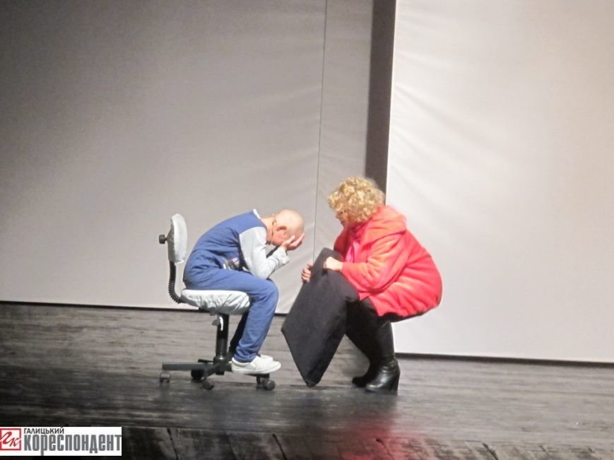 В Івано-Франківську відбулася прем'єра театрального арт-проекту «Оскар і Рожева пані», фото-1