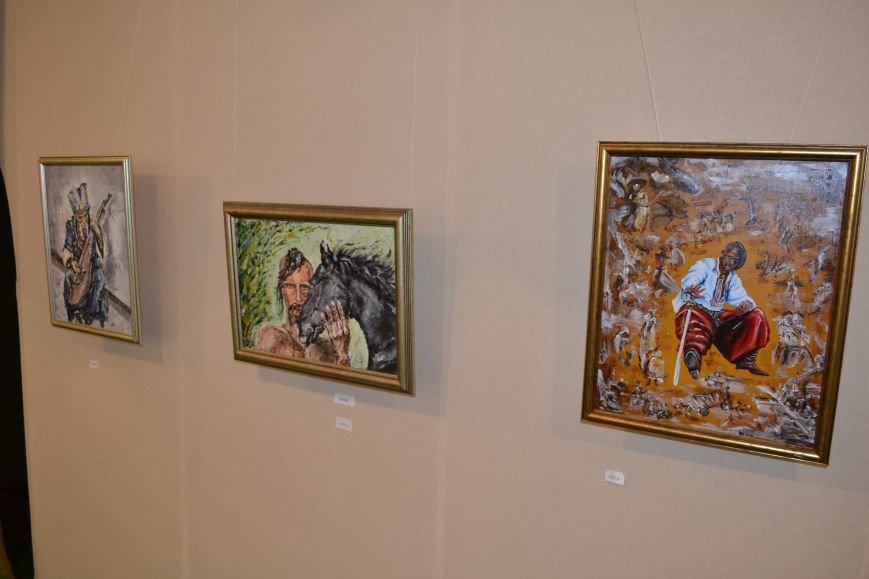 В Днепродзержинске открылась выставка художницы Аллы Михальчук, фото-6