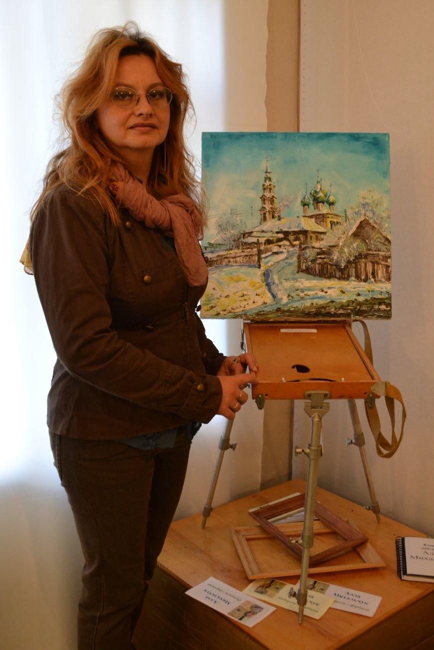 В Днепродзержинске открылась выставка художницы Аллы Михальчук, фото-7