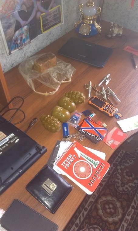 На Днепропетровщине задержан боевик бандформирования «Оплот» (ФОТО, ВИДЕО) (фото) - фото 1