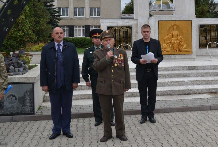 До Дня захисника України проведено вишкіл юних патріотів Тисмениччини, фото-2
