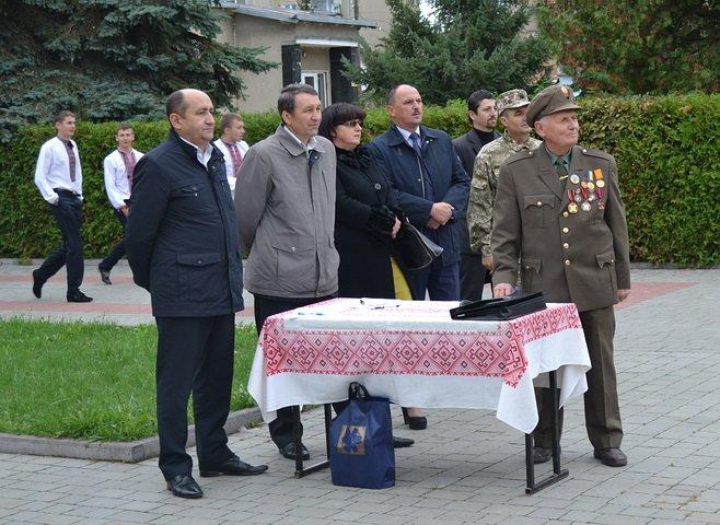 До Дня захисника України проведено вишкіл юних патріотів Тисмениччини, фото-4