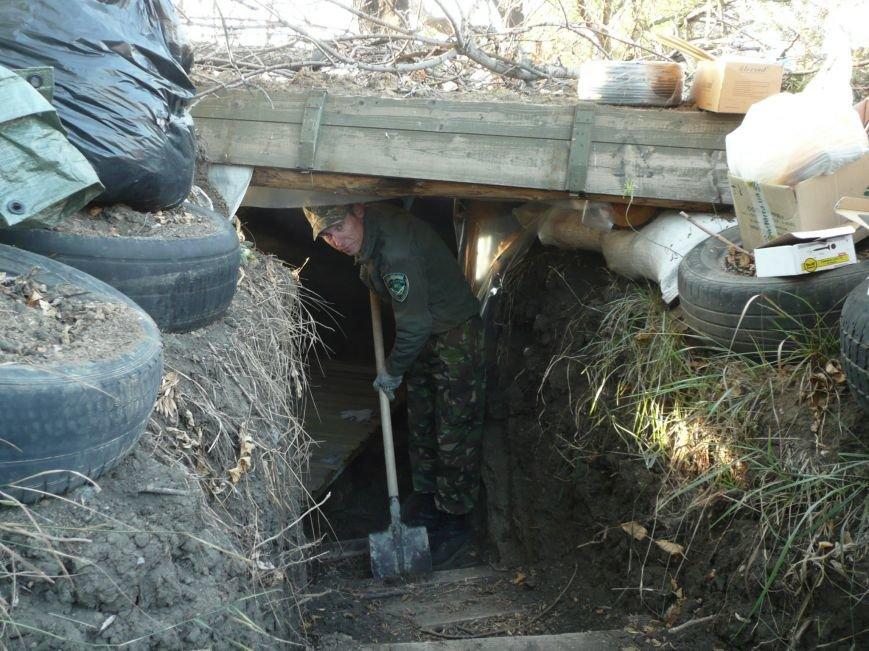 Олександрійські волонтери утеплили прикордонникам блокпост (ФОТО) (фото) - фото 1