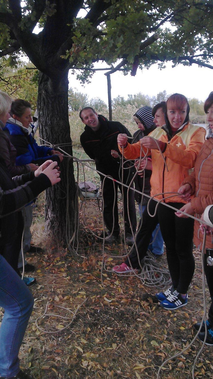 Добропольские физруки и военруки учились быть туристами, фото-3