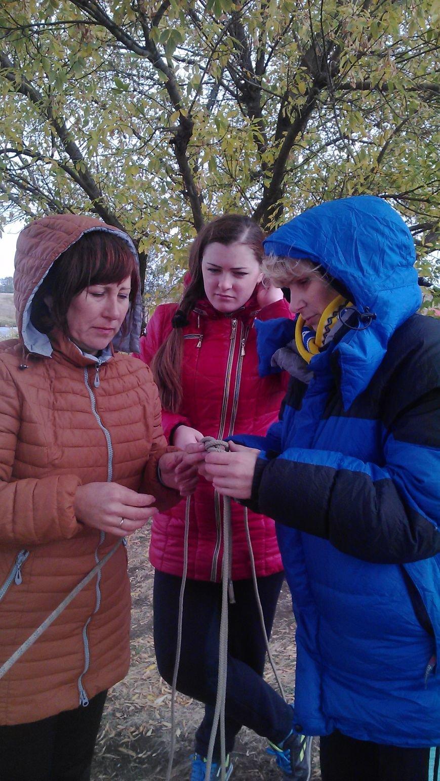 Добропольские физруки и военруки учились быть туристами, фото-5