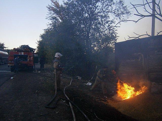 На Николаевщине в пылающей ГАЗели погиб водитель (ФОТО) (фото) - фото 1