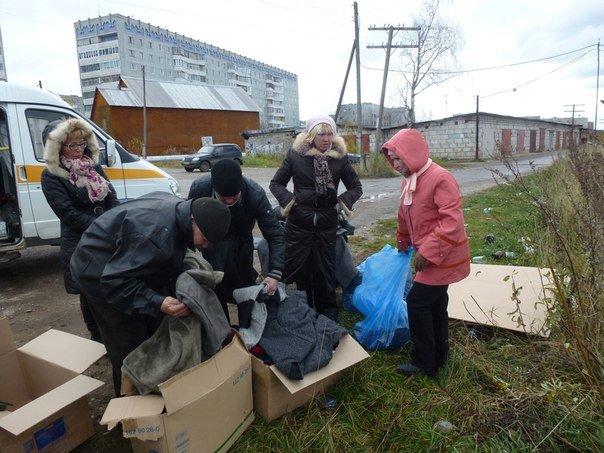 В Эжве накормили бездомных людей, фото-1