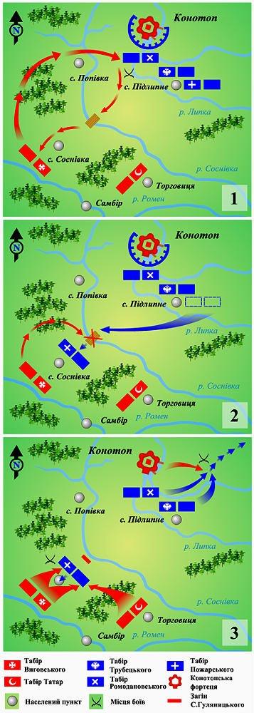 Телеканал новин «24» перед Днем захисника України пише про Конотопську битву, фото-2