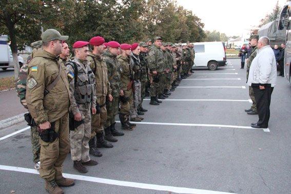 Черниговские милиционеры вернулись из зоны АТО (фото) - фото 1
