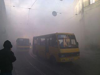 У Львові на проїжджій частині загорівся автомобіль (ФОТО), фото-4