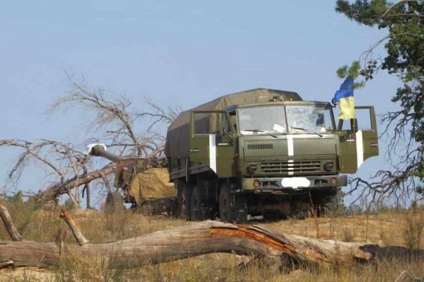 Як артилеристи 44-тої бригади проходять навчання зі стрільби на полігоні (ФОТОРЕПОРТАЖ) (фото) - фото 1