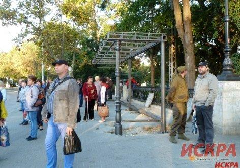 В центре Севастополя начали строить новую остановку (ФОТОФАКТ) (фото) - фото 1