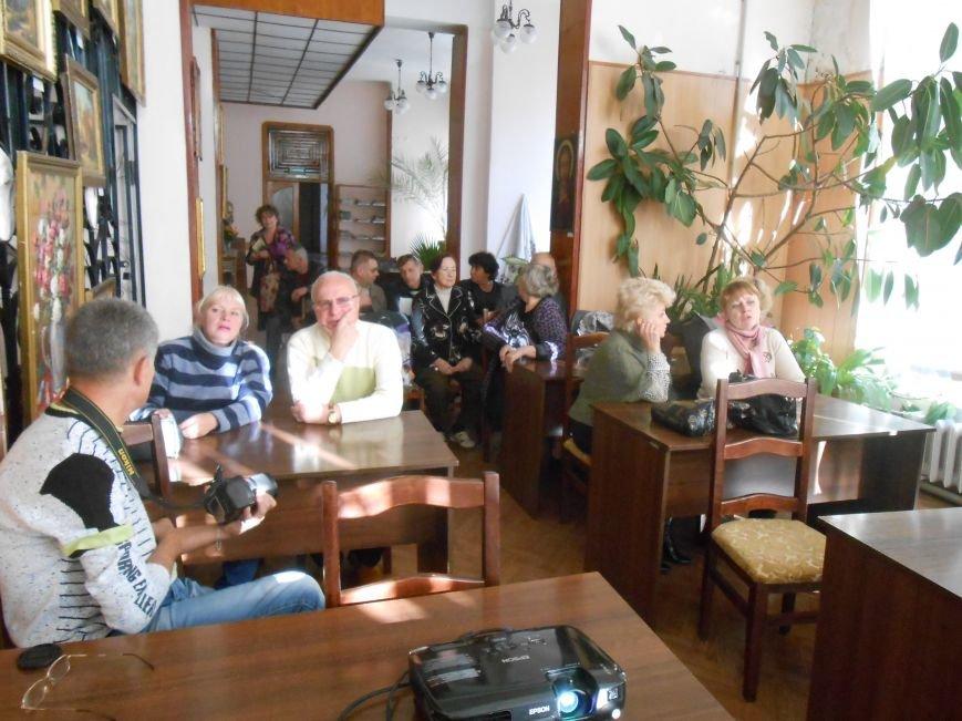 Краеведы обсудили деятельность гестапо в оккупированном Днепродзержинске (фото) - фото 1