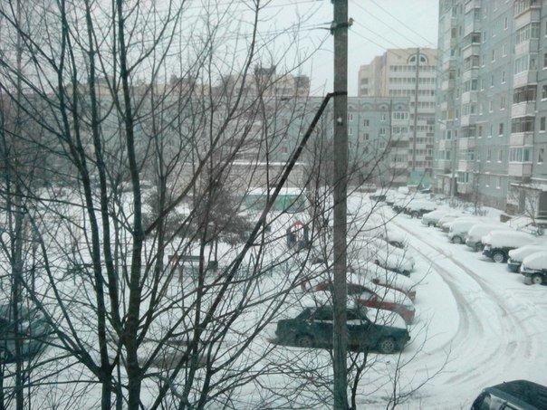 Коммунальщики и водители Сыктывкара оказались не готовы к снегопаду (фото) - фото 1