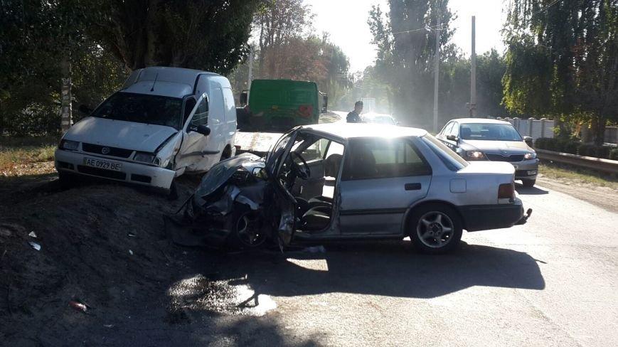 ДТП в Днепропетровске: столкнулись Honda Civic и VOLKSWAGEN (ФОТО), фото-3