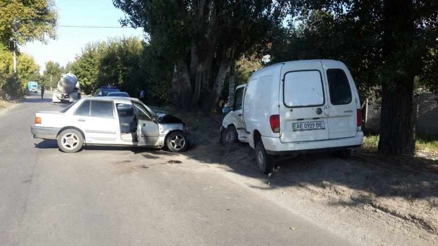 ДТП в Днепропетровске: столкнулись Honda Civic и VOLKSWAGEN (ФОТО), фото-2