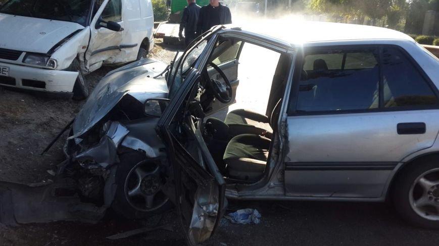 ДТП в Днепропетровске: столкнулись Honda Civic и VOLKSWAGEN (ФОТО), фото-6