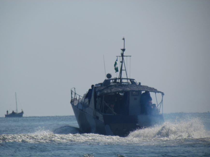 В Мариуполе экологи подарили пограничникам катер (ФОТО+ВИДЕО), фото-11