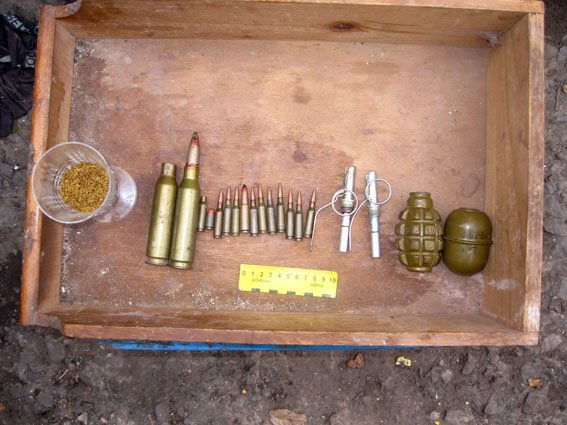 Артемовск гранаты 09.10 2