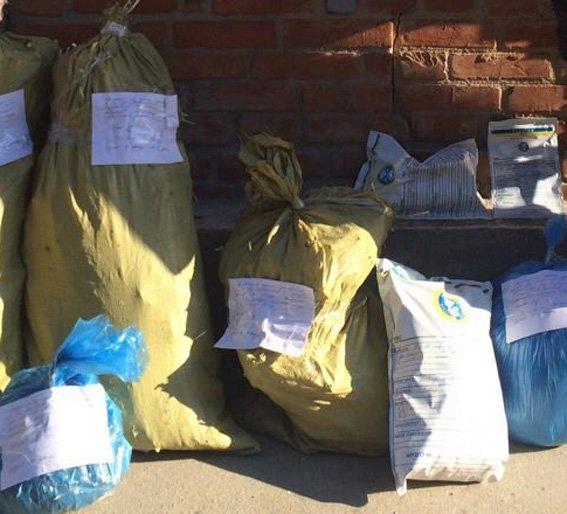 У Кіровограді працівники міліції вилучили у місцевого жителя кілограм марихуани (ФОТО) (фото) - фото 1